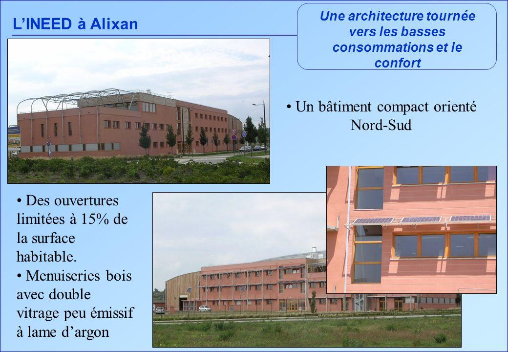 Une architecture tournée vers les basses consommations et le confort