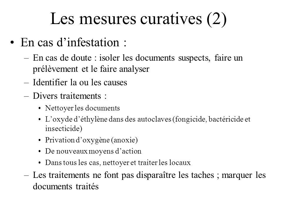 Les mesures curatives (2)