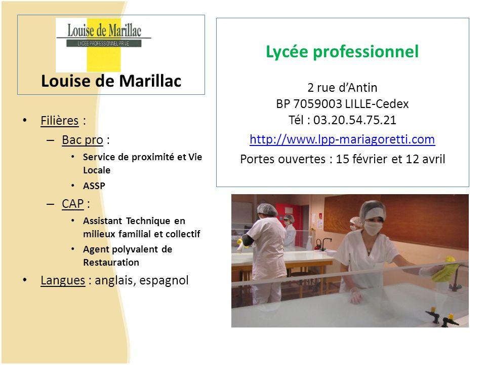 Louise de Marillac Lycée professionnel