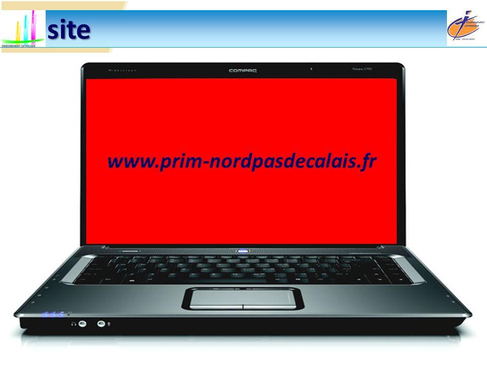 Un site www.prim-nordpasdecalais.fr