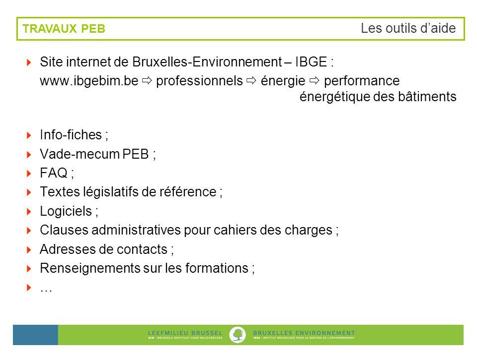 Site internet de Bruxelles-Environnement – IBGE :