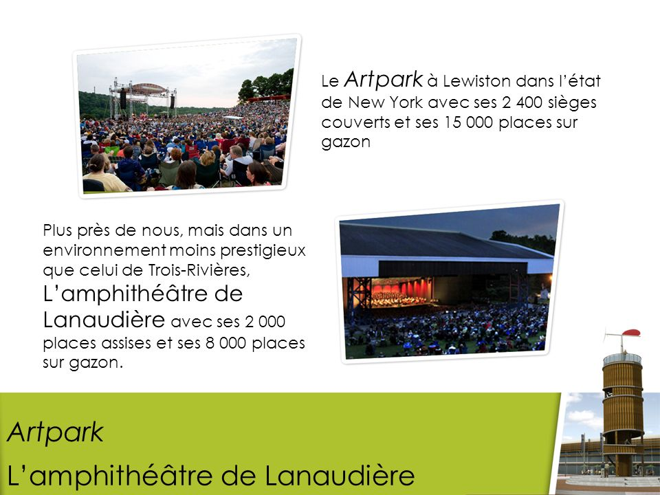 L'amphithéâtre de Lanaudière