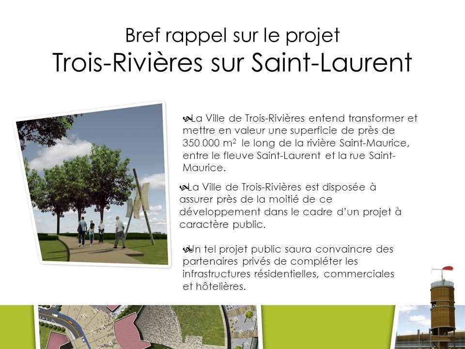 Trois-Rivières sur Saint-Laurent