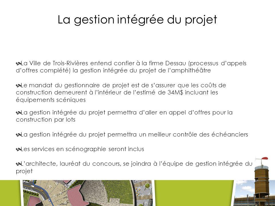 La gestion intégrée du projet