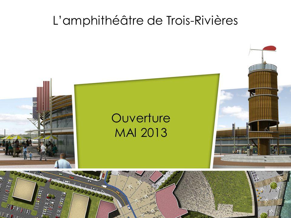 L'amphithéâtre de Trois-Rivières