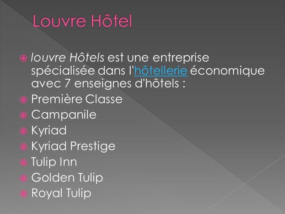 Louvre Hôtel louvre Hôtels est une entreprise spécialisée dans l hôtellerie économique avec 7 enseignes d hôtels :