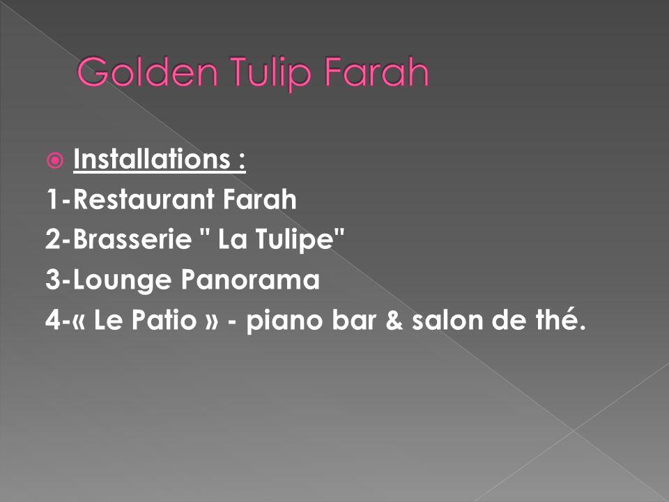 Golden Tulip Farah Installations : 1-Restaurant Farah