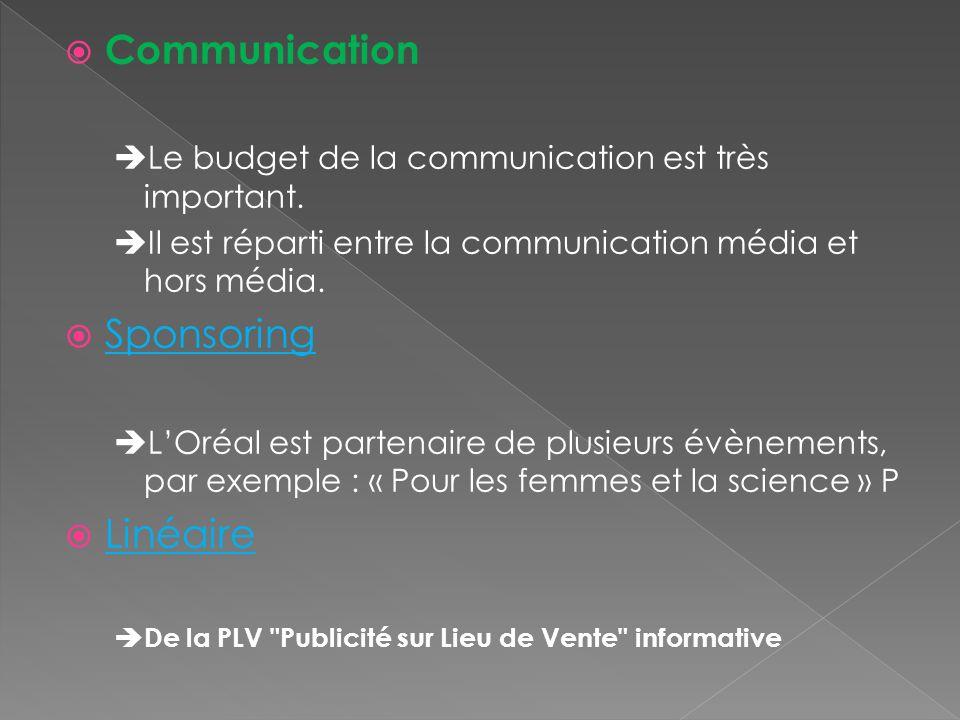 Communication Sponsoring Linéaire