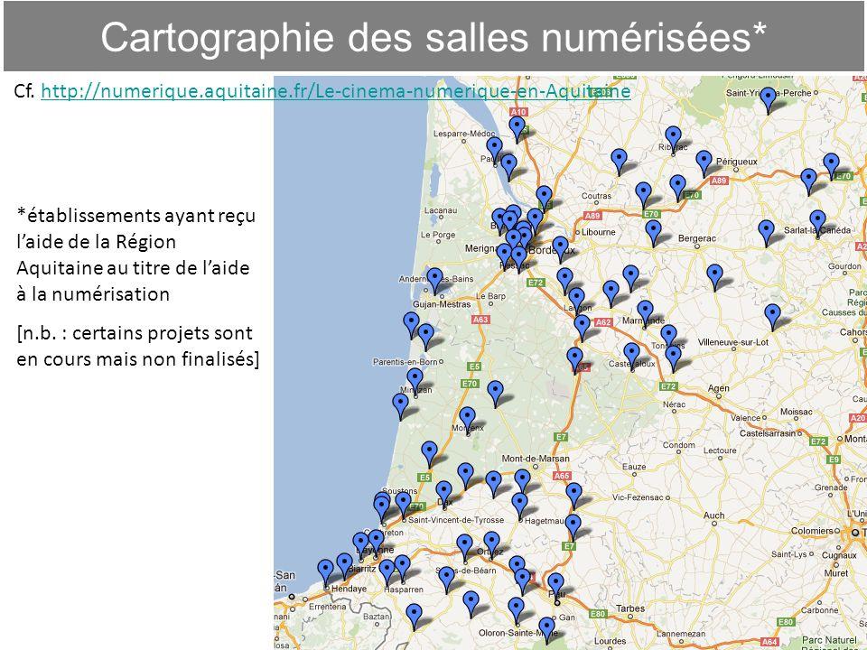 Cartographie des salles numérisées*