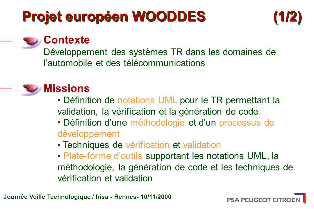 Projet européen WOODDES (1/2)