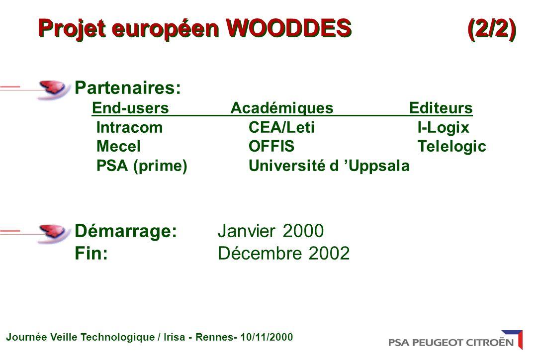 Projet européen WOODDES (2/2)