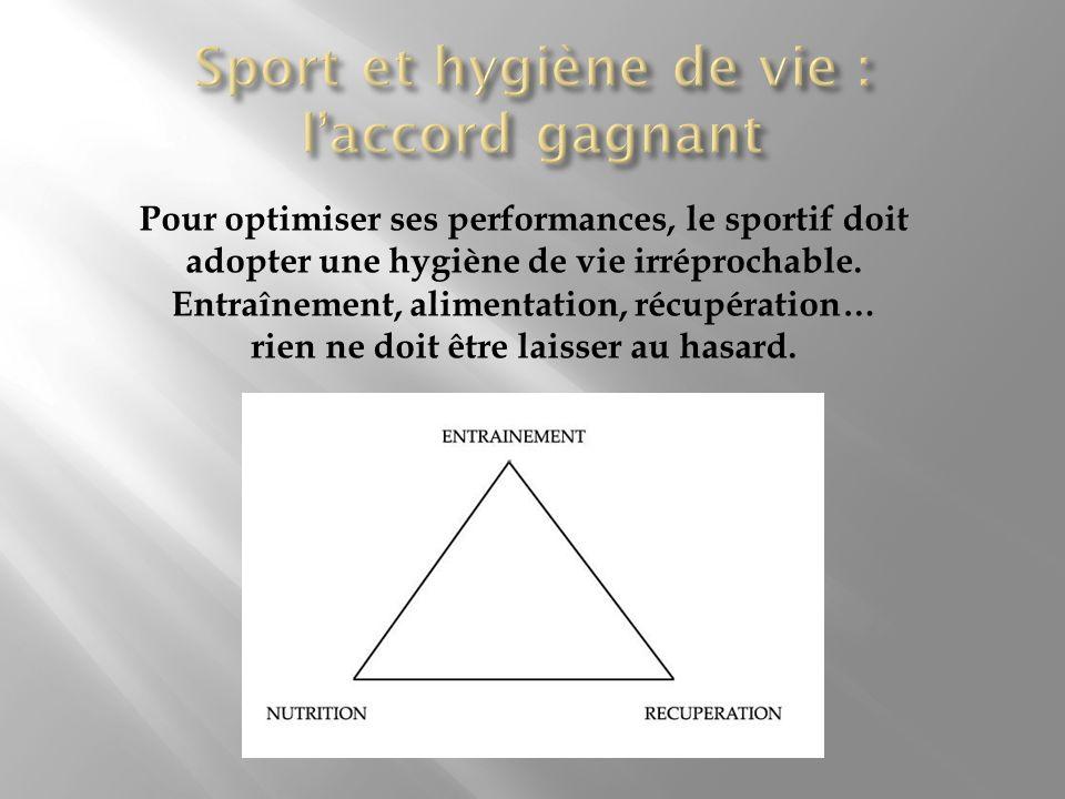 Sport et hygiène de vie : l'accord gagnant