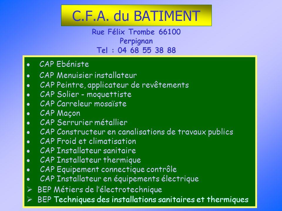 Rue Félix Trombe 66100 Perpignan