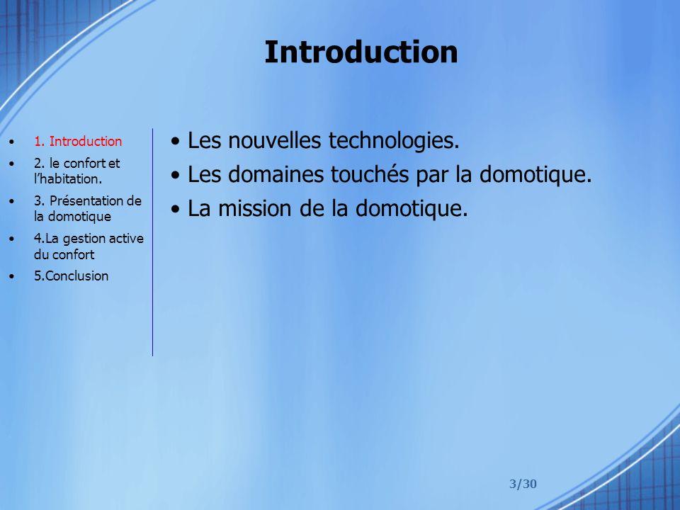 Introduction Les nouvelles technologies.