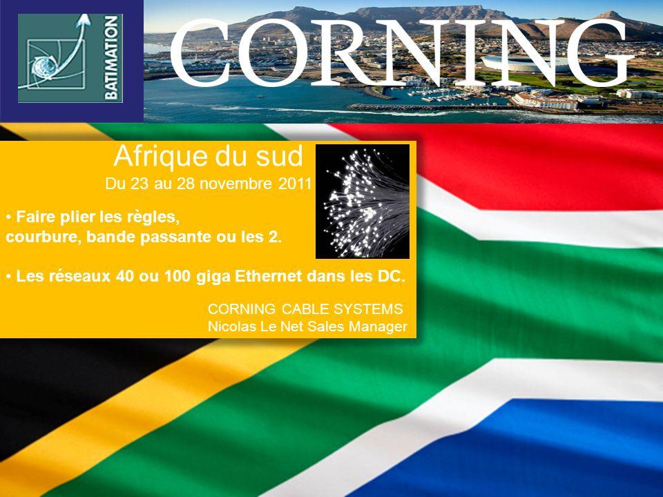 Afrique du sud Du 23 au 28 novembre 2011 Faire plier les règles,