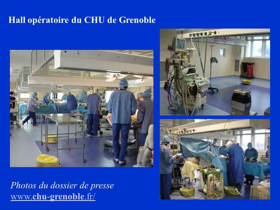 Hall opératoire du CHU de Grenoble