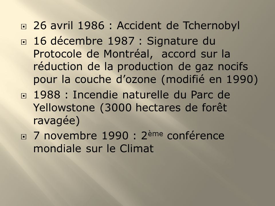 26 avril 1986 : Accident de Tchernobyl