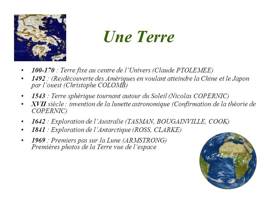 Une Terre 100-170 : Terre fixe au centre de l'Univers (Claude PTOLEMEE)