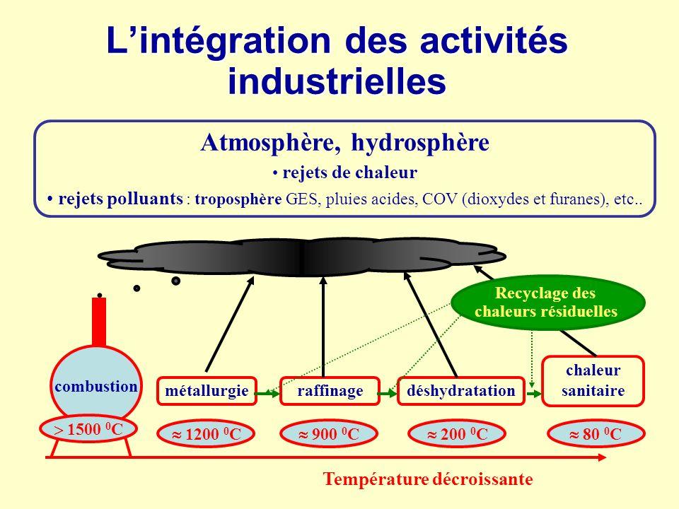 L'intégration des activités industrielles