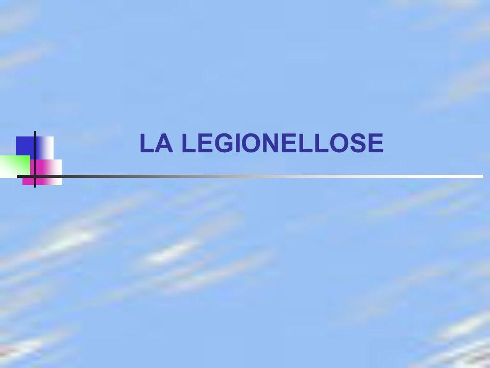 LA LEGIONELLOSE