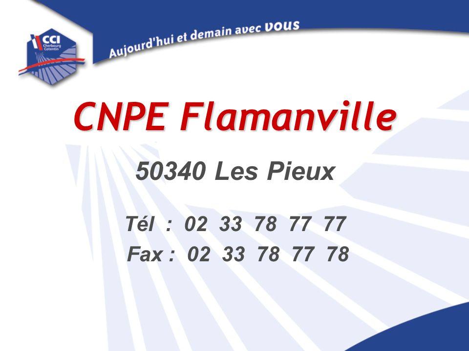 CNPE Flamanville 50340 Les Pieux Tél : 02 33 78 77 77