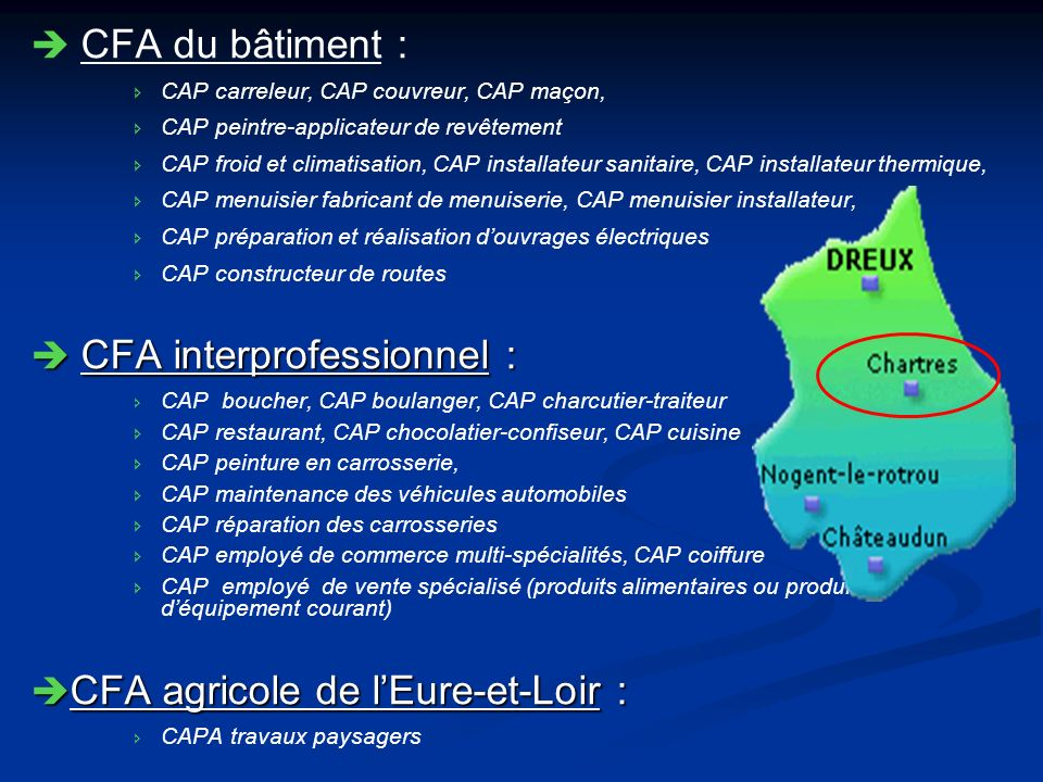 CFA interprofessionnel :