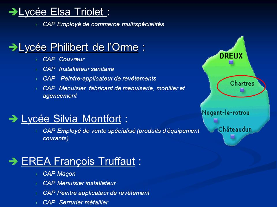 Lycée Philibert de l'Orme :