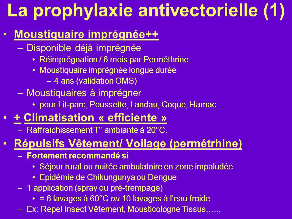 La prophylaxie antivectorielle (1)
