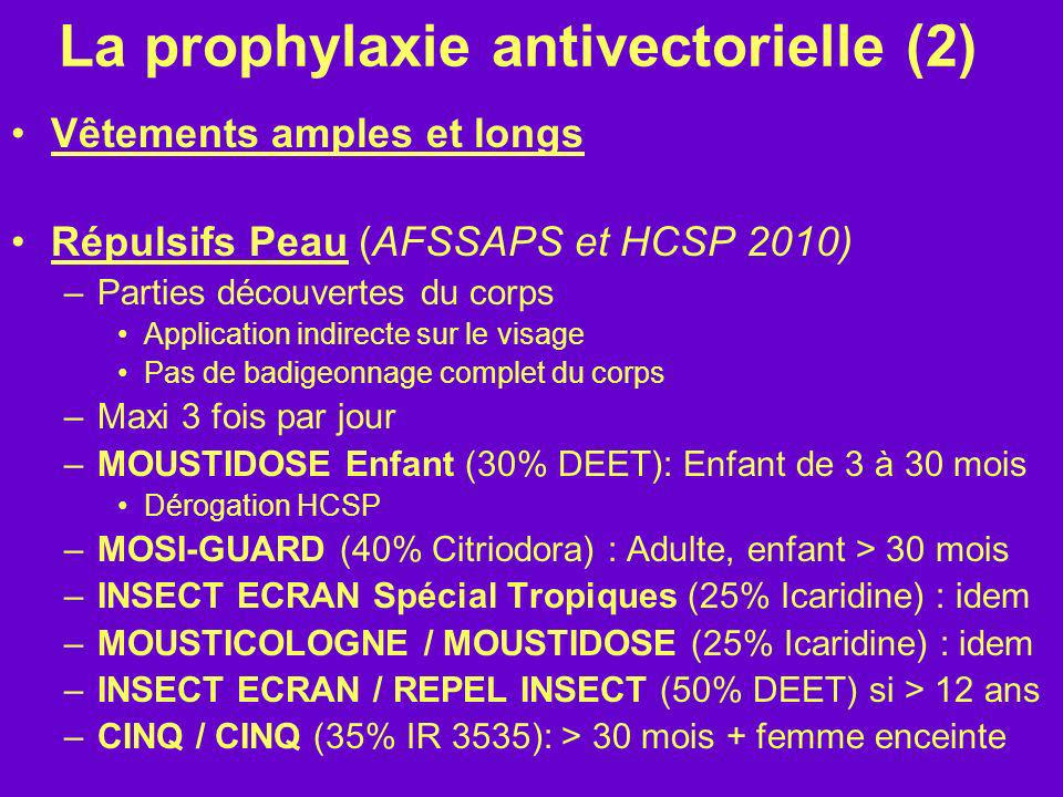 La prophylaxie antivectorielle (2)
