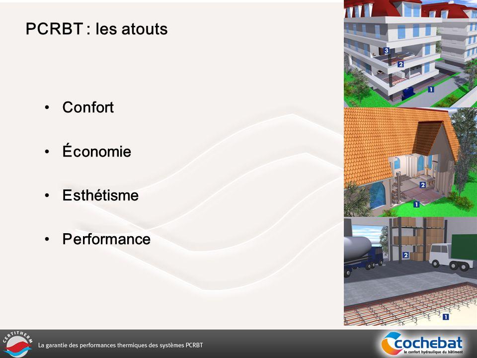 PCRBT : les atouts Confort Économie Esthétisme Performance