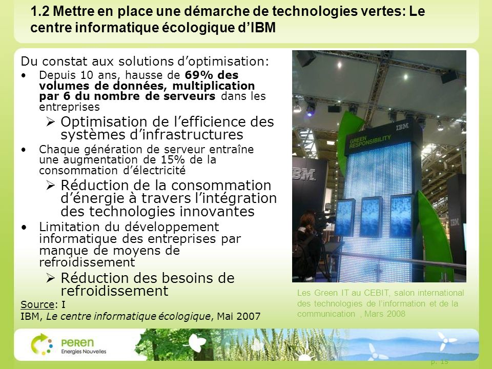 Optimisation de l'efficience des systèmes d'infrastructures