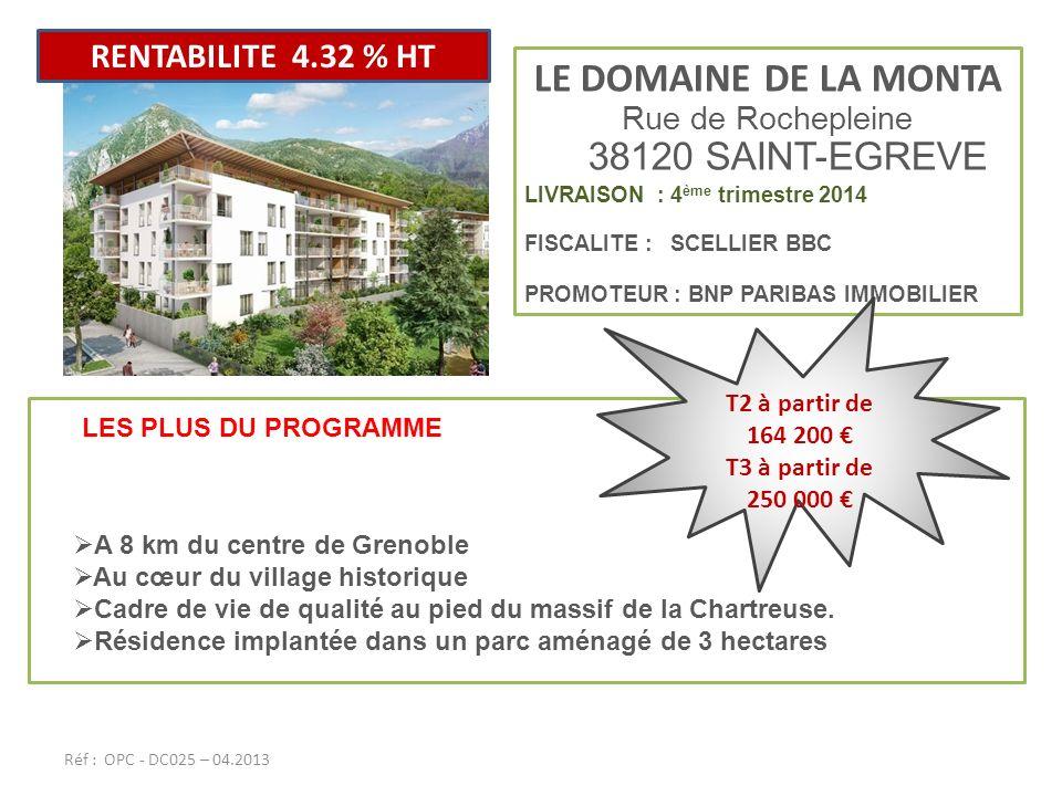 Rue de Rochepleine 38120 SAINT-EGREVE