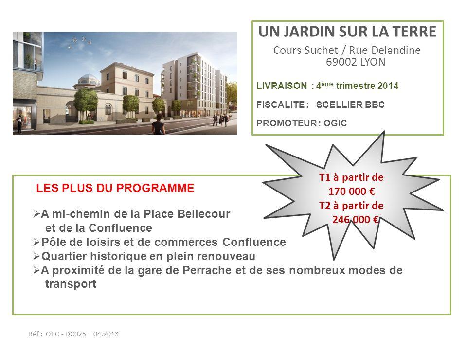 Cours Suchet / Rue Delandine 69002 LYON