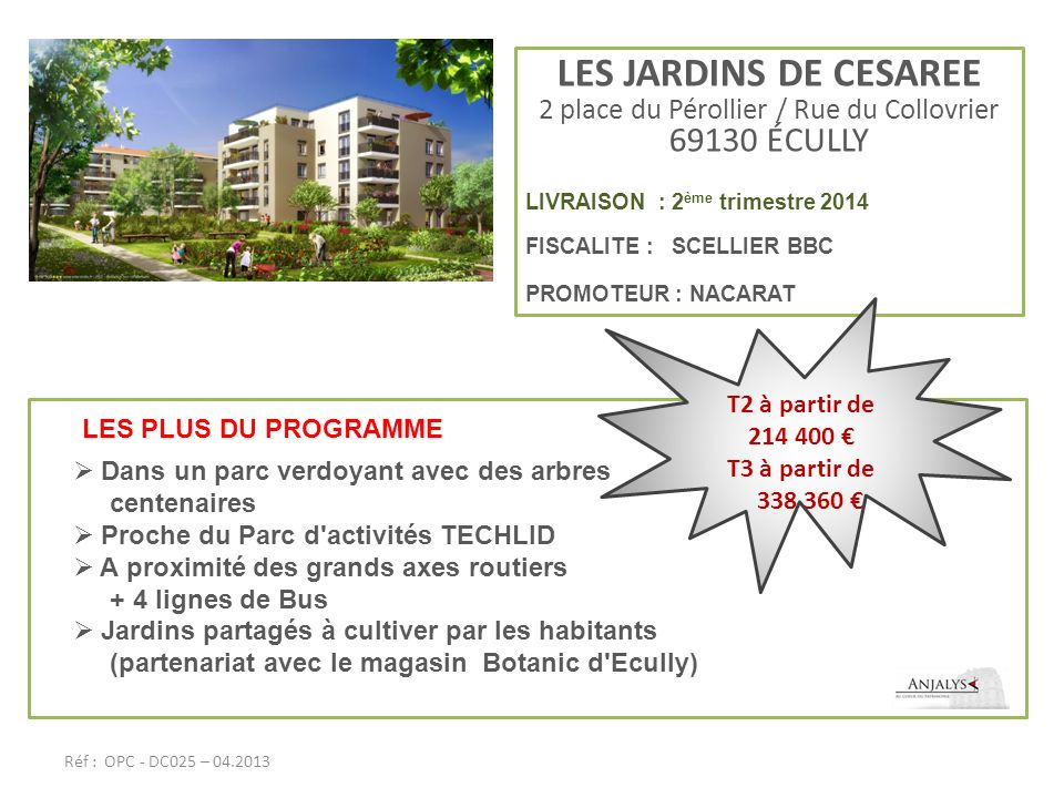 2 place du Pérollier / Rue du Collovrier 69130 ÉCULLY