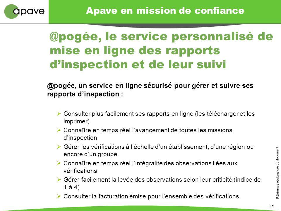 @pogée, le service personnalisé de mise en ligne des rapports d'inspection et de leur suivi