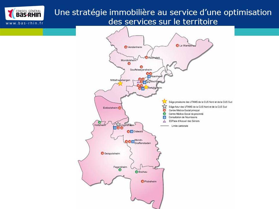 Une stratégie immobilière au service d'une optimisation des services sur le territoire