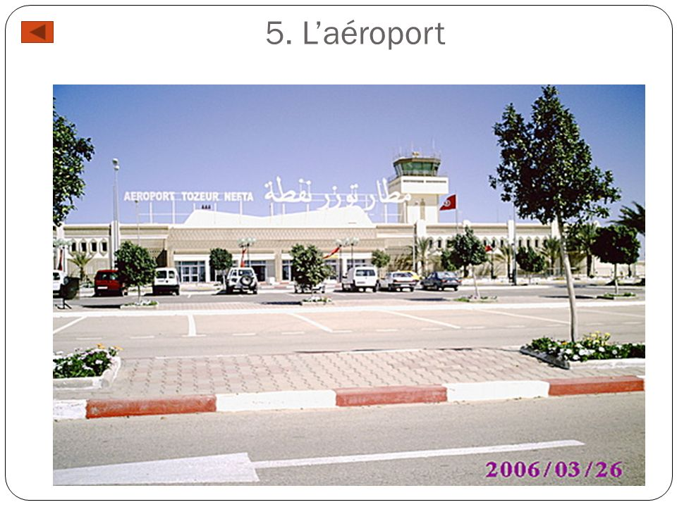 5. L'aéroport