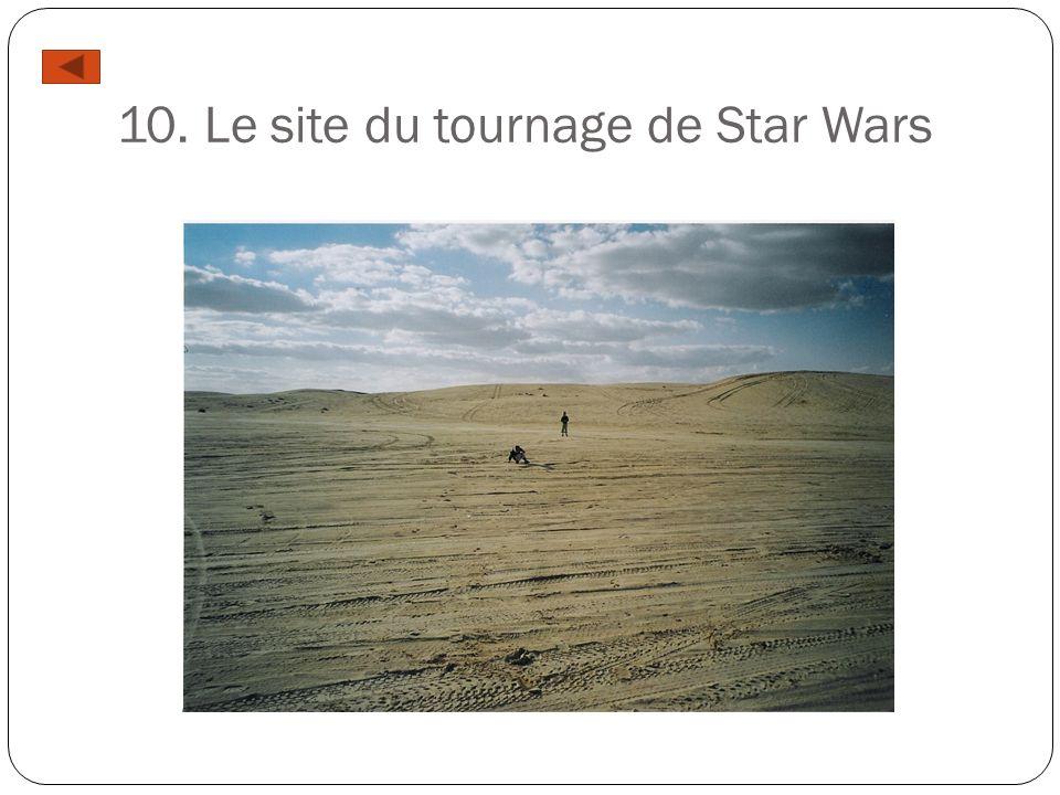 10. Le site du tournage de Star Wars