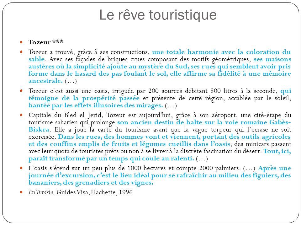 Le rêve touristique Tozeur ***