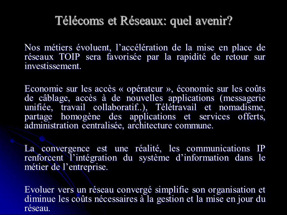 Télécoms et Réseaux: quel avenir