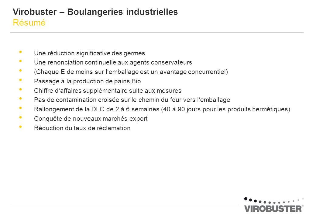 Virobuster – Boulangeries industrielles Résumé
