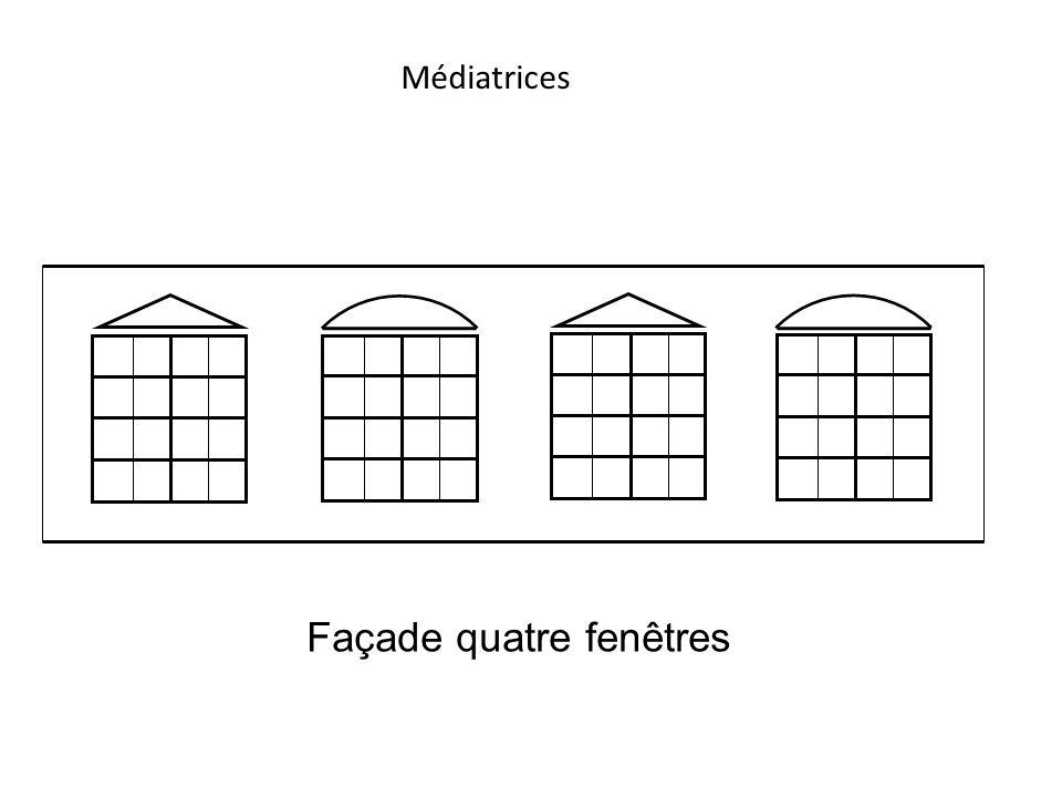 Façade quatre fenêtres
