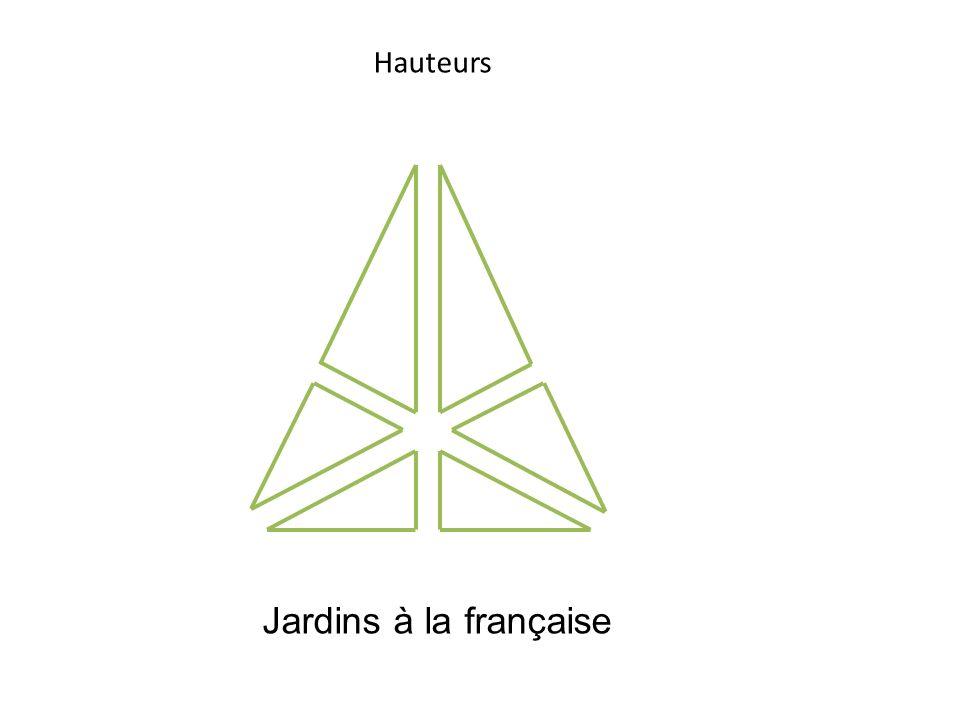 Hauteurs Jardins à la française