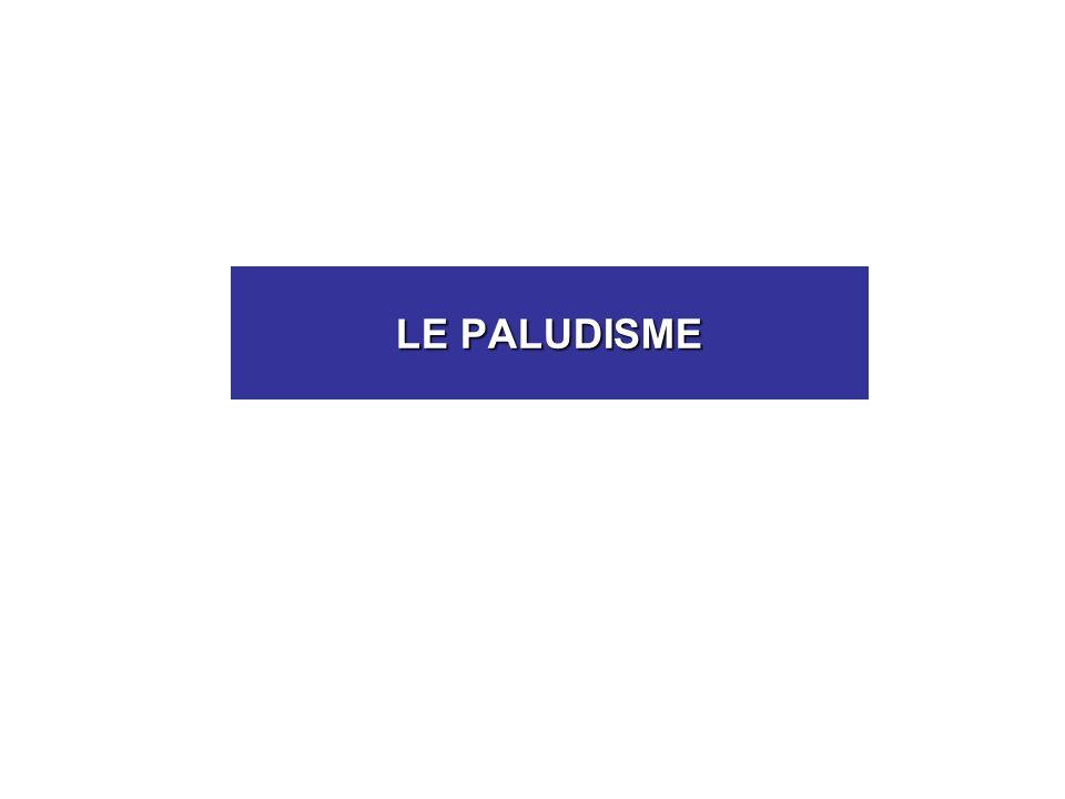LE PALUDISME