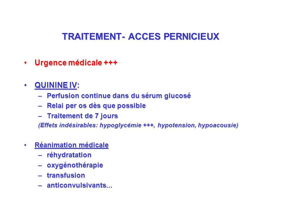 TRAITEMENT- ACCES PERNICIEUX