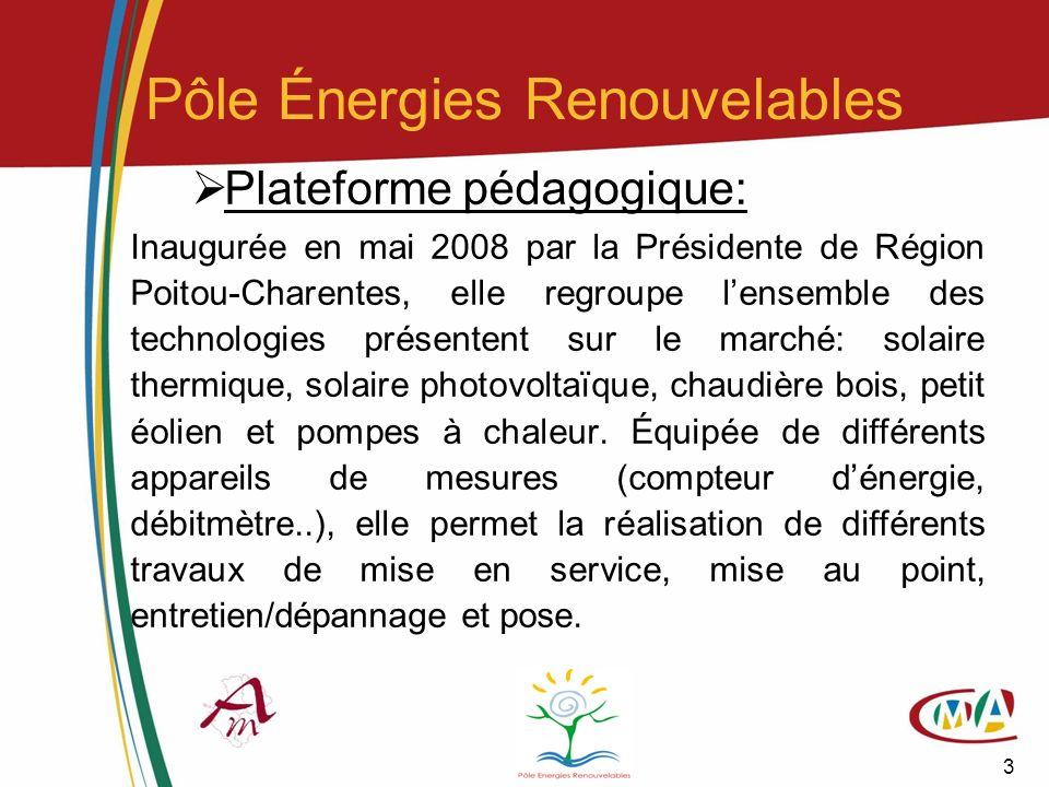 Pôle Énergies Renouvelables