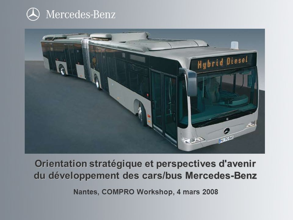 Nantes, COMPRO Workshop, 4 mars 2008