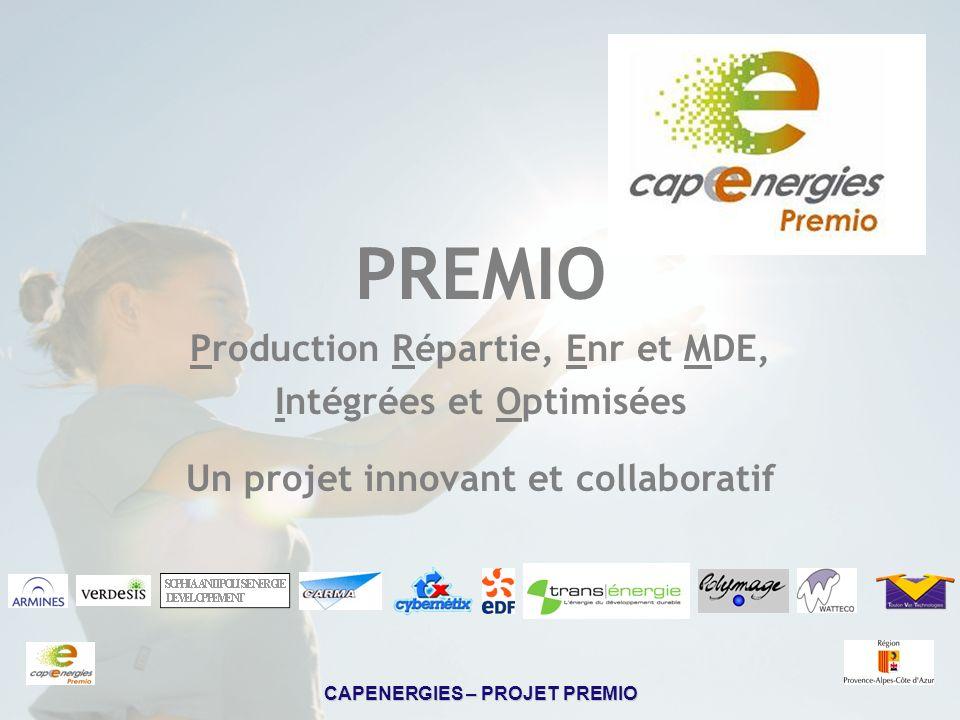 PREMIO Production Répartie, Enr et MDE, Intégrées et Optimisées