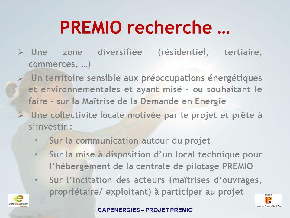 PREMIO recherche … Une zone diversifiée (résidentiel, tertiaire, commerces, …)