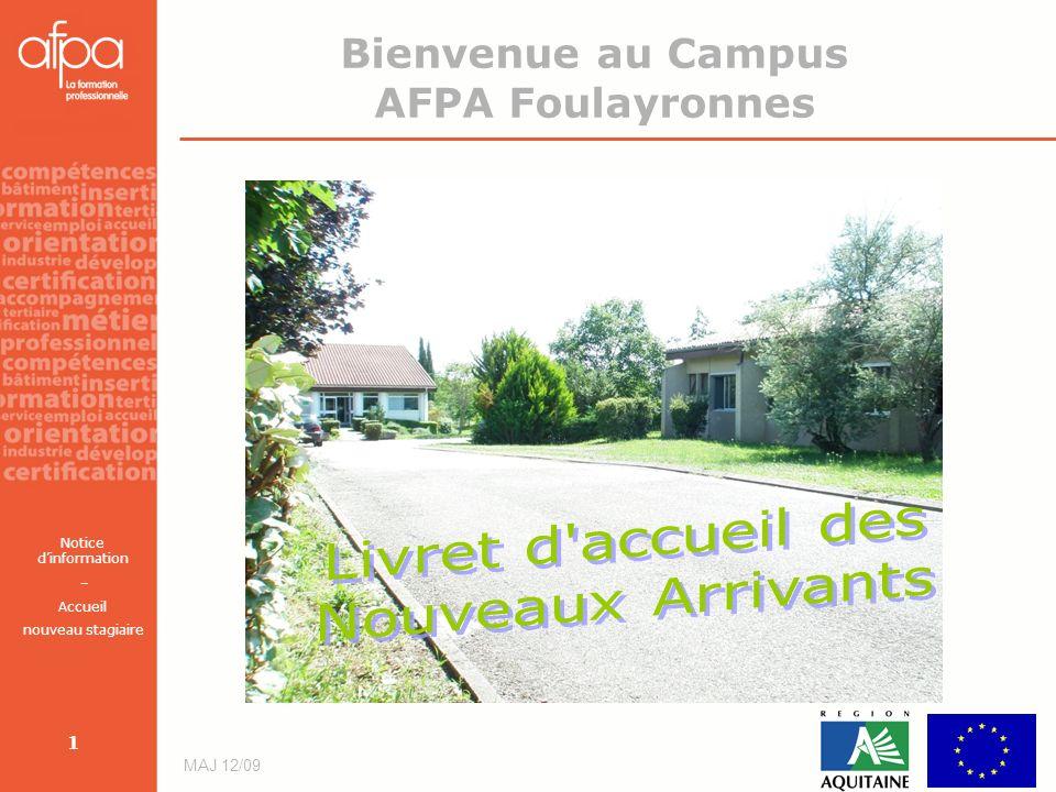 Bienvenue au Campus AFPA Foulayronnes